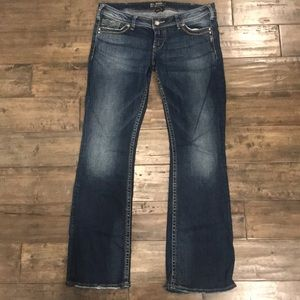 Silver Jeans Co. Pioneer cut women's jeans 31x33